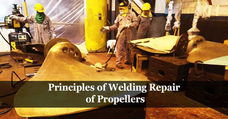 Welding Repair of Propellers