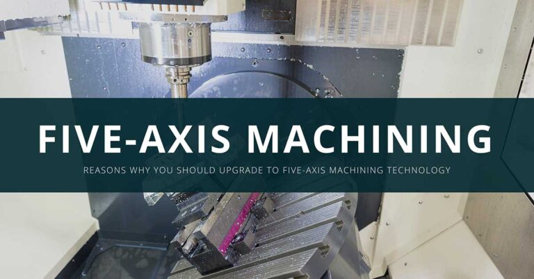 Upgrade to five axis machining