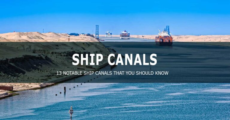 Ship canals