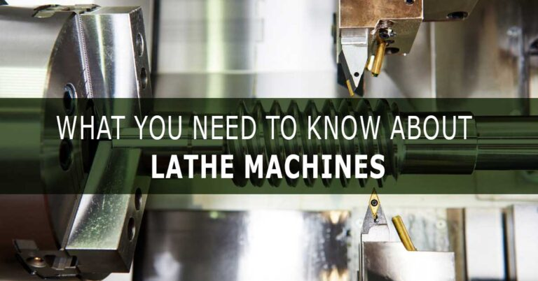 Lathe machine article