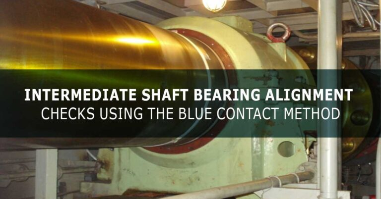 Intermediate Shaft Bearing Alignment