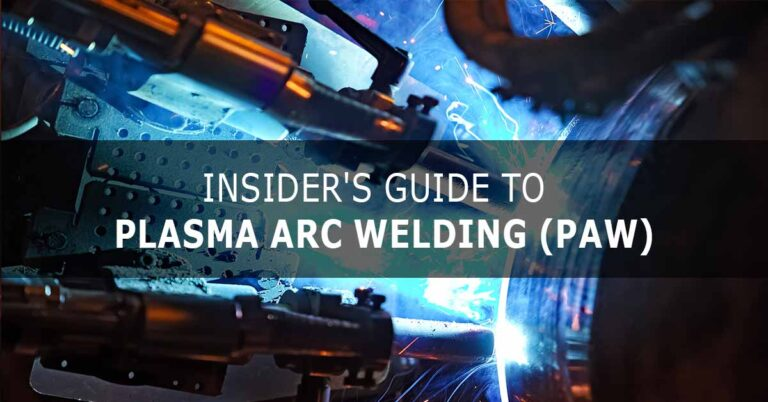 Plasma Arc Welding PAW